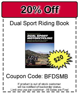 Dual Sport Riding Book 20% off